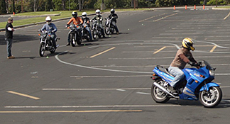 BRC2 Motorcycle Class in Action