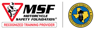 Recognized Motorcycle Safety Training Provider by the Texas Department of Public Safety (DPS)